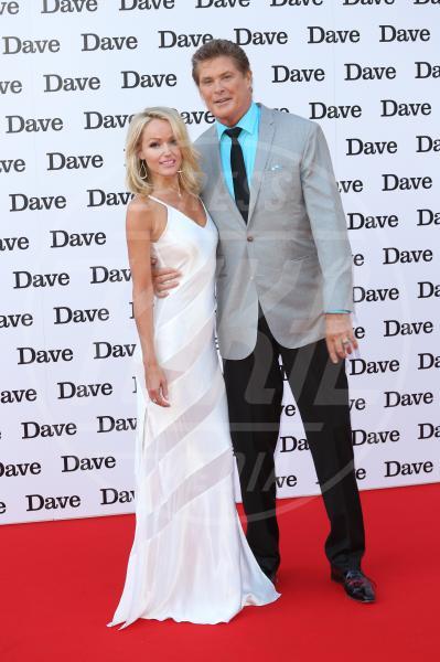 Hayley Roberts, David Hasselhoff - Londra - 20-05-2015 - David Hasselhoff sposo in Italia con la sua Hayley