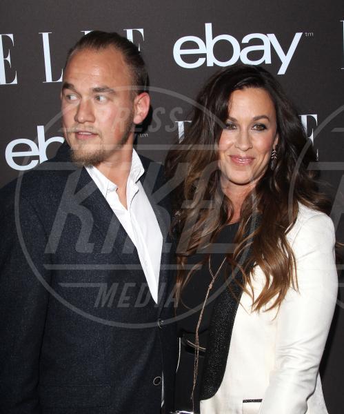 Mario Treadway, Alanis Morissette - Hollywood - 20-05-2015 - Alanis Morissette è diventata mamma per la terza volta