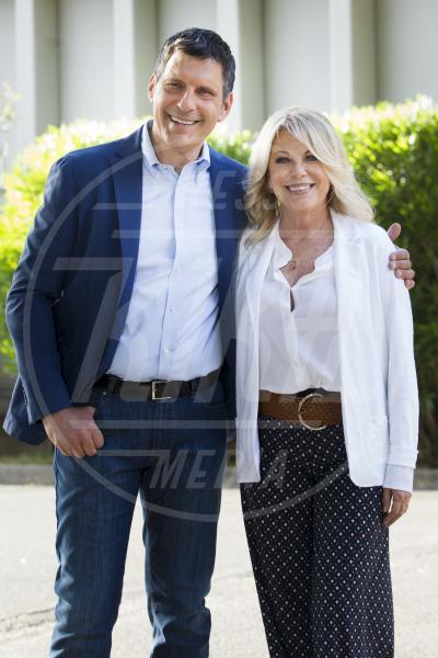 Rita Dalla Chiesa, Fabrizio Frizzi - Roma - 21-05-2015 - Frizzi-Dalla Chiesa, di nuovo insieme per questioni di cuore