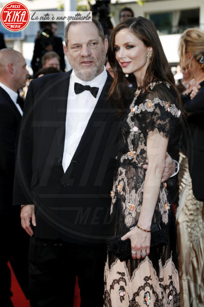Harvey Weinstein, Georgina Chapman - Cannes - 22-05-2015 - Melissa Thompson incastra Harvey Weinstein: il video shock