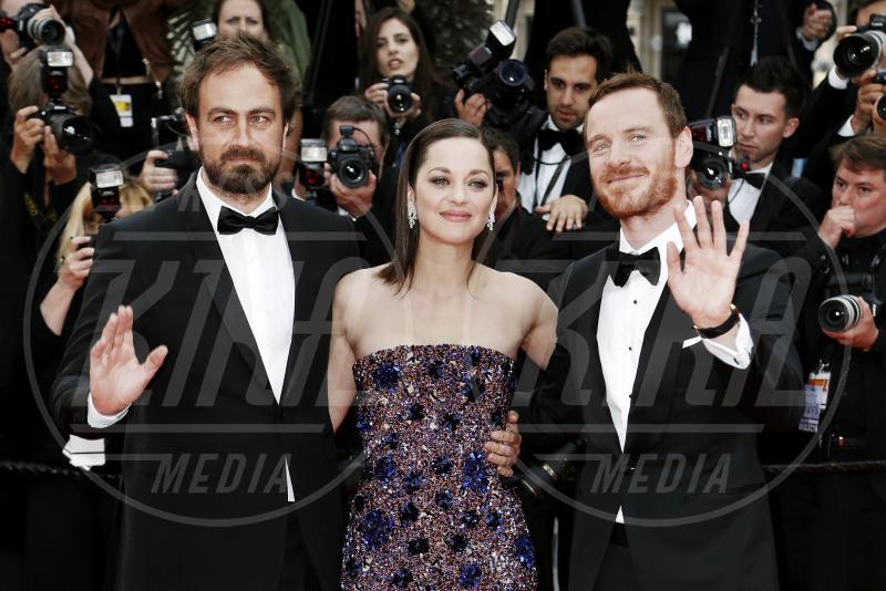 Justin Kurzel, Michael Fassbender, Marion Cotillard - Cannes - 23-05-2015 - Ecco il primo trailer italiano di Assassin's Creed