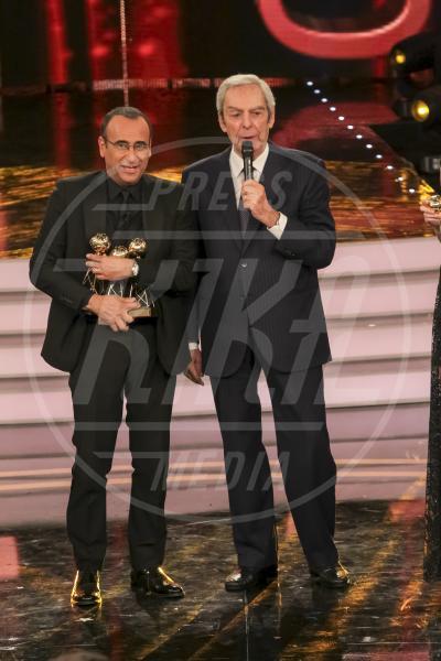 Daniele Piombi, Carlo Conti - Roma - 26-05-2015 - Addio Daniele Piombi, il presentatore muore a 83 anni