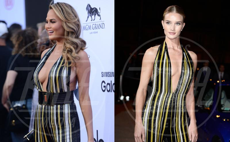 Chrissy Teigen, Rosie Huntington-Whiteley - 26-05-2015 - Chrissy Teigen Rosie Huntington-Whiteley: chi lo indossa meglio?