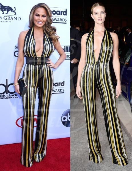 Chrissy Teigen, Rosie Huntington-Whiteley - 26-05-2015 - La tuta glam-chic conquista le celebrity