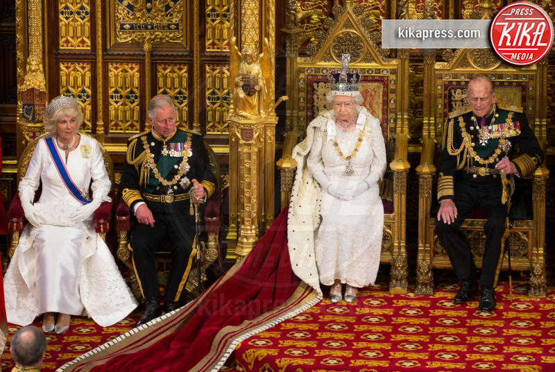 Principe Carlo d'Inghilterra, Regina Elisabetta II, Principe Filippo Duca di Edimburgo, Camilla Parker Bowles - Londra - 27-05-2015 - Dio salvi la regina: Elisabetta II compie 63 anni di regno