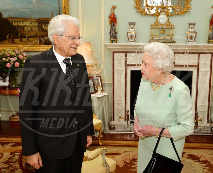 Sergio Mattarella, Regina Elisabetta II - Londra - 28-05-2015 - Dio salvi la regina: Elisabetta II compie 63 anni di regno