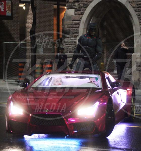 controfigura Jared Leto, Margot Robbie, Ben Affleck - Toronto - 27-05-2015 - Suicide Squad: ciak, si gira lo scontro Batman Vs Joker!