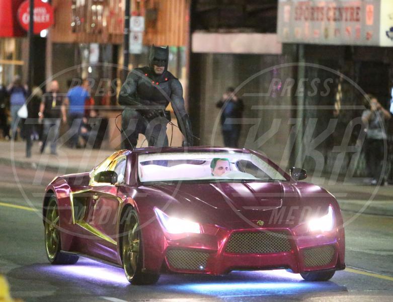 controfigura Jared Leto, Ben Affleck - Toronto - 27-05-2015 - Suicide Squad: ciak, si gira lo scontro Batman Vs Joker!