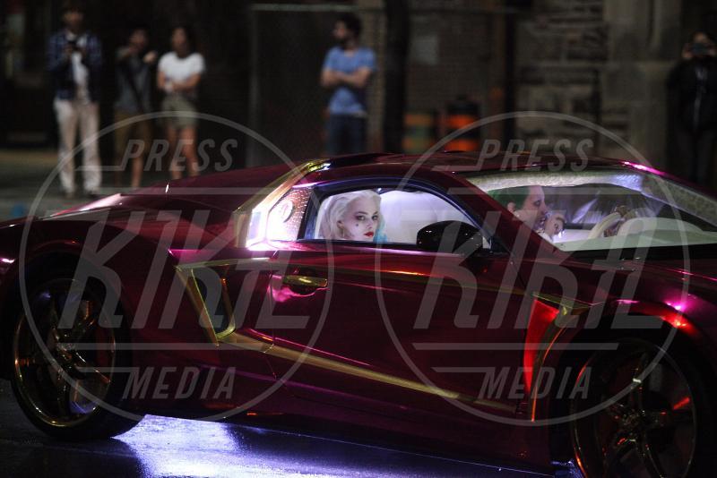 controfigura Jared Leto, Margot Robbie - Toronto - 27-05-2015 - Suicide Squad: ciak, si gira lo scontro Batman Vs Joker!