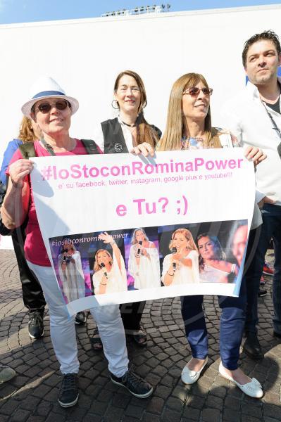fans Al Bano e Romina Power - Verona - 29-05-2015 - Al Bano e Romina di nuovo insieme in Italia dopo 20 anni