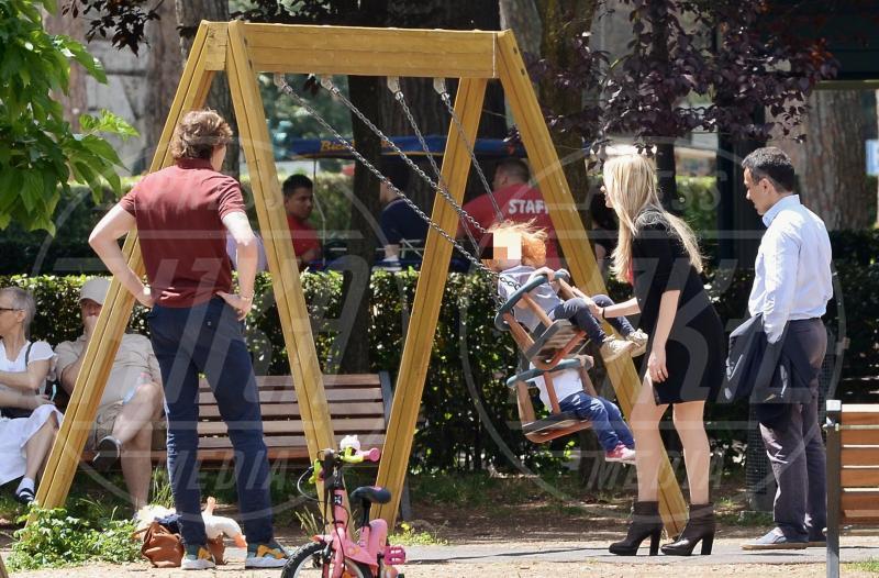 Andrea Manfredonia, Ginevra Gregorini, Martina Stella - Roma - 30-05-2015 - Star come noi: amore, vieni che ti porto al parco!