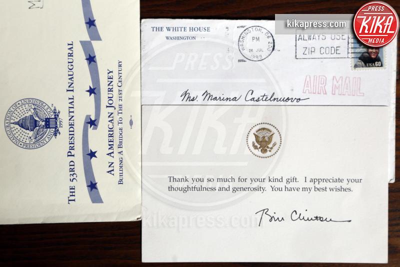 Marina Castelnuovo, Bill Clinton - Varese - 26-05-2015 - Marina Castelnuovo, la sosia di Liz Taylor