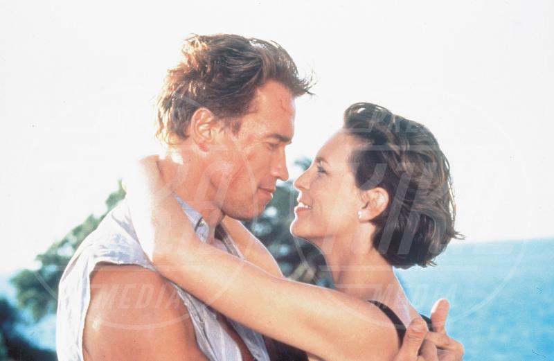 True lies, Arnold Schwarzenegger, Jamie Lee Curtis - 01-01-1994 - Auguri Arnold Schwarzenegger! L'attore compie 70 anni