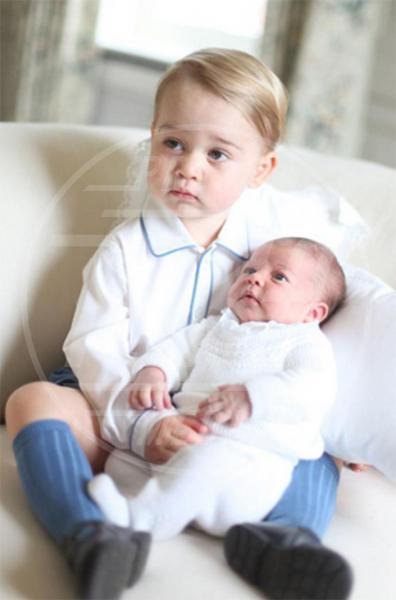 Principessa Charlotte Elizabeth Diana, Principe George - Londra - 07-06-2015 - Principino George: le sette foto che lo hanno resto una star