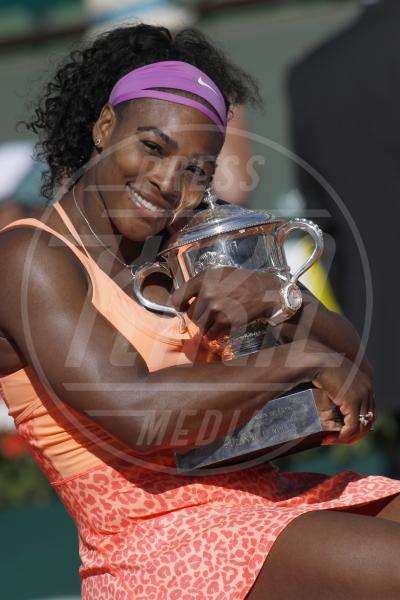Serena Williams - Parigi - 06-06-2015 - Serena Williams: la prima foto con Alexis Olympia