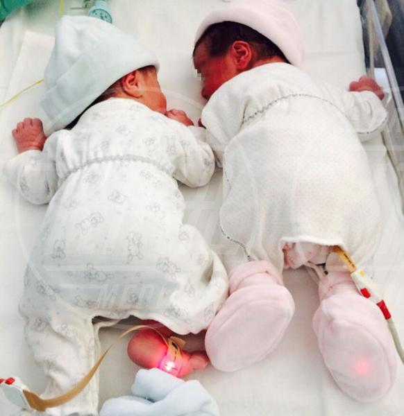 Lavinia Picardi, Francesco Picardi - Roma - 07-06-2015 - Beatrice Lorenzin è mamma, benvenuti Francesco e Lavinia