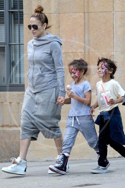 Emme Anthony, Jennifer Lopez - New York - 07-06-2015 - Mamme in carriera: i figli sono la chiave del successo