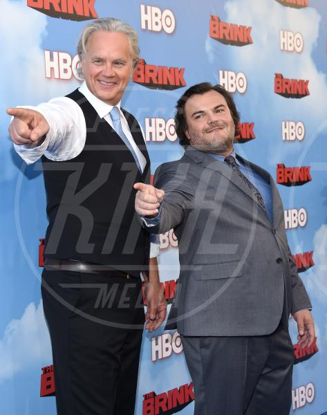 Jack Black, Tim Robbins - Hollywood - 08-06-2015 - Tim Robbins segretario di Stato sopra le righe in The Brink
