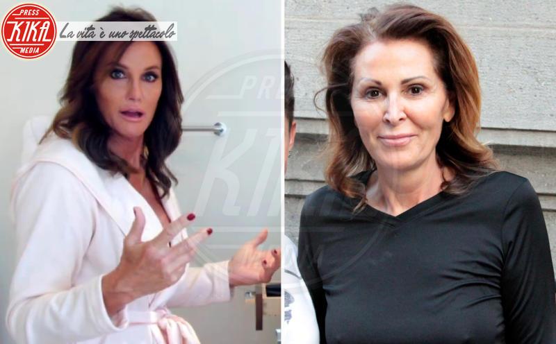 Caitlyn Jenner, Daniela Santanchè - Milano - 14-05-2012 - Separati alla nascita: le star e i loro cloni