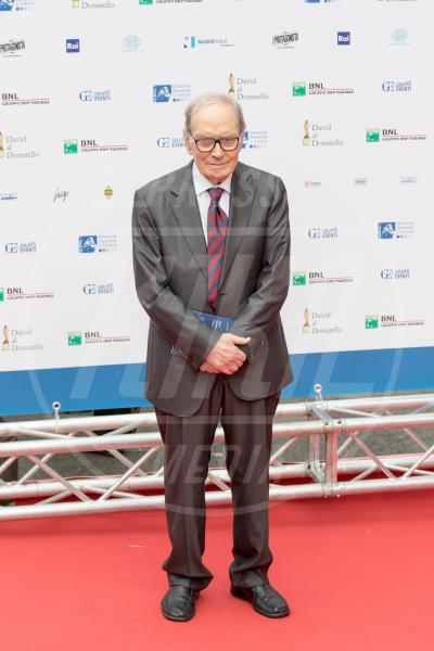 Ennio Morricone - Roma - 12-06-2015 - Ennio Morricone, per la sesta volta candidato agli Oscar