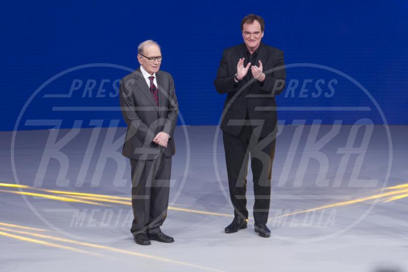 Ennio Morricone, Quentin Tarantino - Roma - 12-06-2015 - Ennio Morricone è l'unico italiano in lizza per un Golden Globe