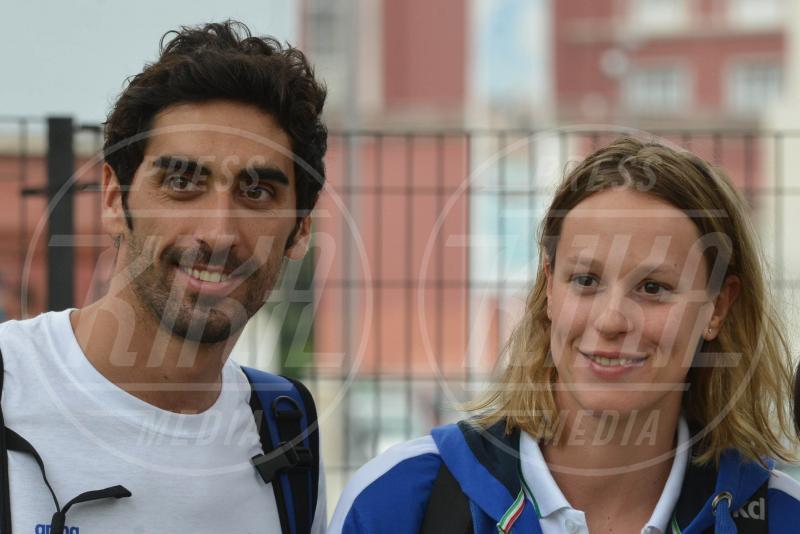 Federica Pellegrini, Filippo Magnini - Roma - 12-06-2015 - Federica Pellegrini modella sexy davanti allo specchio