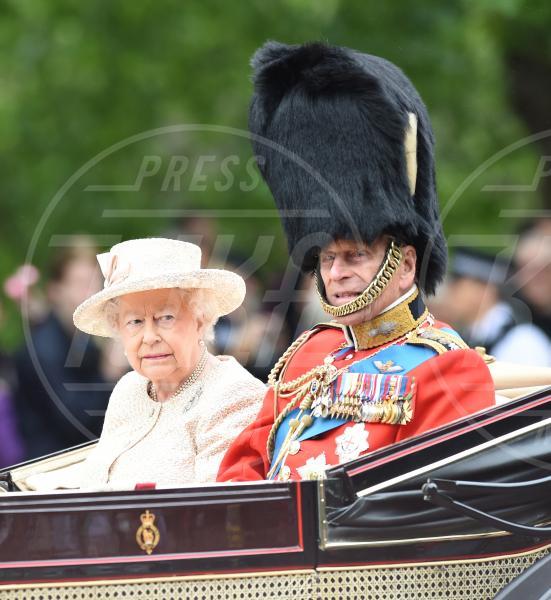 Regina Elisabetta II, Principe Filippo Duca di Edimburgo - Londra - 13-06-2015 - Dio salvi la regina: Elisabetta II compie 63 anni di regno