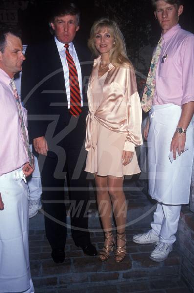 Marla Maples, Donald Trump - New York - 01-08-1993 - Donald Trump sarà il prossimo Presidente Usa?