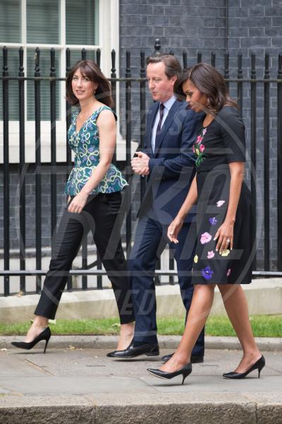 Samantha Cameron, Michelle Obama, David Cameron - Londra - 16-06-2015 - Michelle Obama, un tè col principe Harry