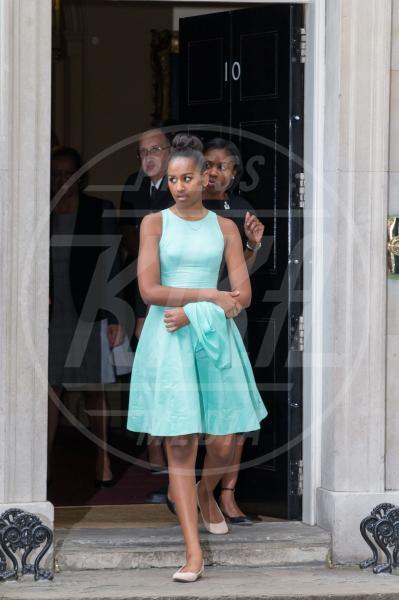 Sasha Obama - Londra - 16-06-2015 - Michelle Obama, un tè col principe Harry