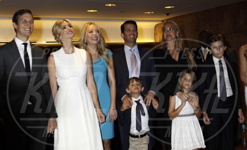 Barron Trump, Eric Trump, Donald Trump Jr., Tiffany Trump, Ivanka Trump - New York - 16-06-2015 - Donald Trump sarà il prossimo Presidente Usa?