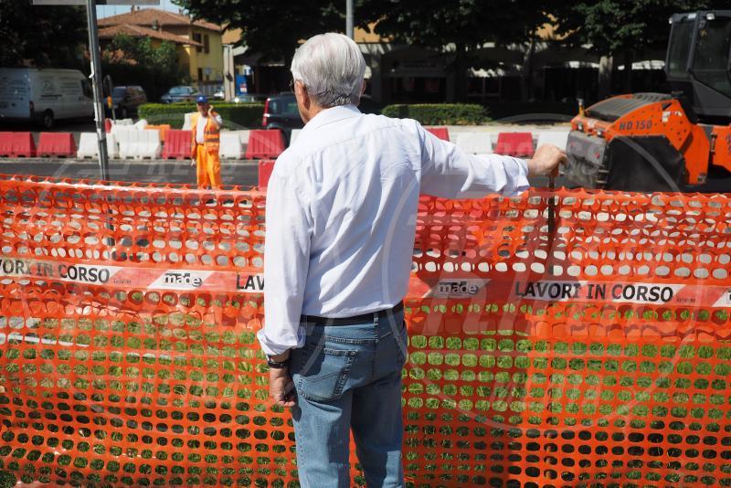 Franco Bonini - San Lazzaro di Savena - 18-06-2015 - 15 anni a osservare i lavori: capo cantiere ad honorem