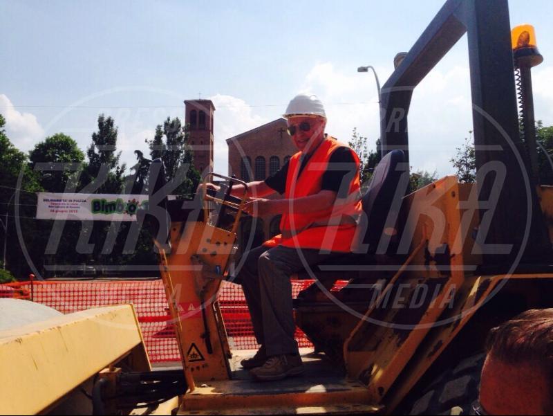 Franco Bonini - San Lazzaro di Savena - 09-06-2015 - 15 anni a osservare i lavori: capo cantiere ad honorem