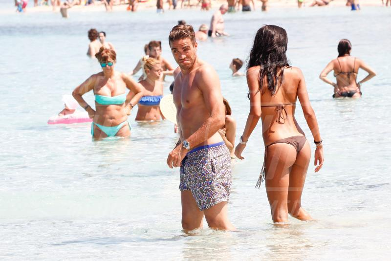 Alessandro Matri, Federica Nargi - Formentera - 23-06-2015 - Federica Nargi e Alessandro Matri sono mamma e papà
