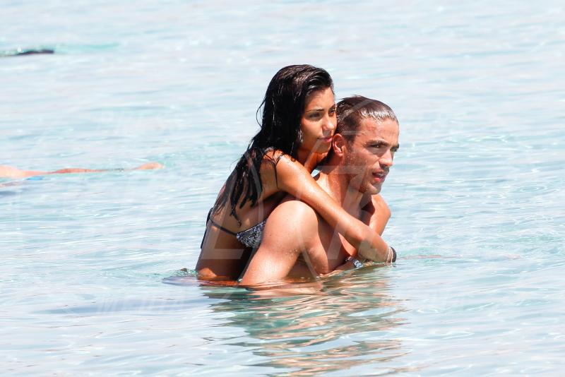 Alessandro Matri, Federica Nargi - Formentera - 23-06-2015 - Federica Nargi: