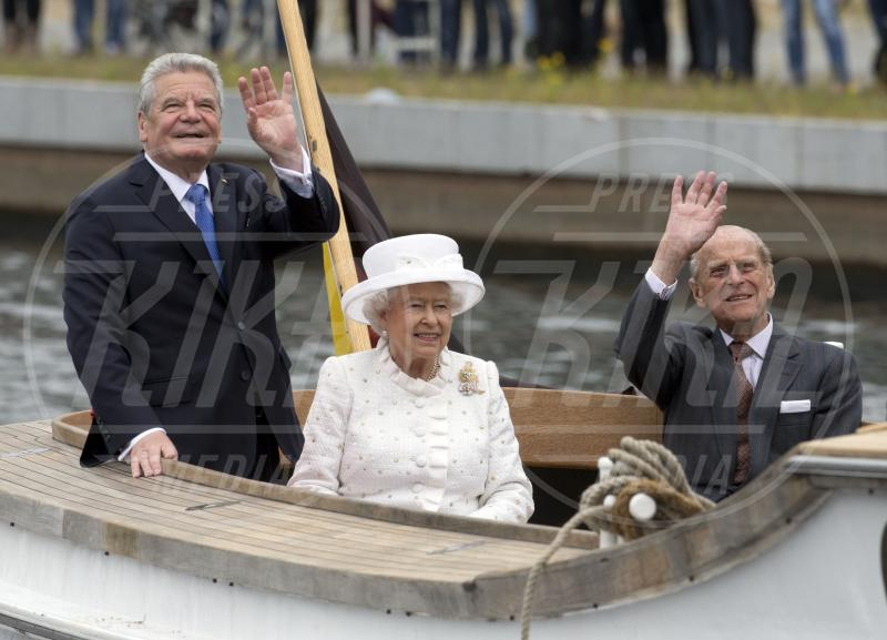 Joachim Gauck, Regina Elisabetta II, Principe Filippo Duca di Edimburgo - Berlino - 24-06-2015 - Dio salvi la regina: Elisabetta II compie 63 anni di regno
