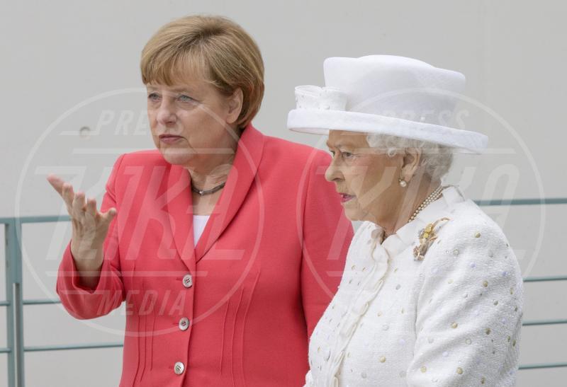 Regina Elisabetta II, Angela Merkel - Berlino - 24-06-2015 - Dio salvi la regina: Elisabetta II compie 63 anni di regno