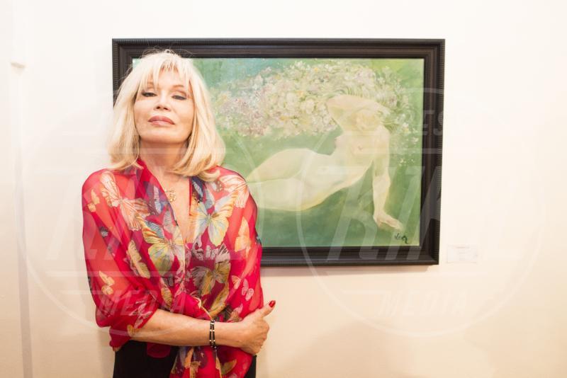 Amanda Lear - Spoleto - 27-06-2015 - Amanda Lear presenta le sue opere d'arte al Festival di Spoleto