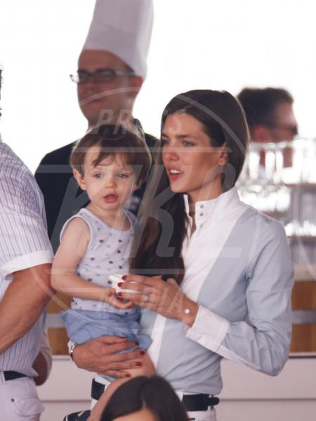 Raphael Elmaleh, Charlotte Casiraghi - Monte Carlo - 28-06-2015 - Charlotte Casiraghi di nuovo incinta