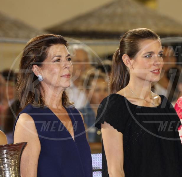 Principessa Carolina di Monaco, Charlotte Casiraghi - Monte Carlo - 28-06-2015 - Charlotte Casiraghi di nuovo incinta