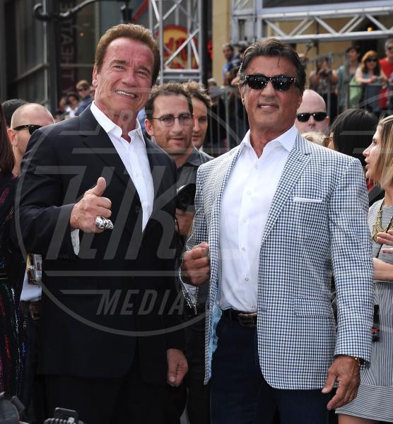 Sylvester Stallone, Arnold Schwarzenegger - Hollywood - 29-06-2015 - Rambo è pronto a tornare, la Fox ralizzerà una nuova serie tv