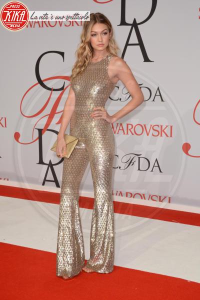 Gigi Hadid - New York - 02-06-2015 - La tuta glam-chic conquista le celebrity