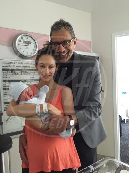 Charlie Ocean Goldblum, Emilie Livingston, Jeff Goldblum - 08-07-2015 - Le star che non sapevi avessero avuto figli in tarda età
