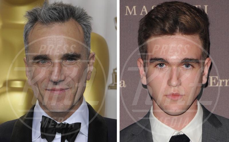 Gabriel Kane Day Lewis, Daniel Day-Lewis - Hollywood - 09-07-2015 - Stefano e Santiago De Martino: due gocce d'acqua