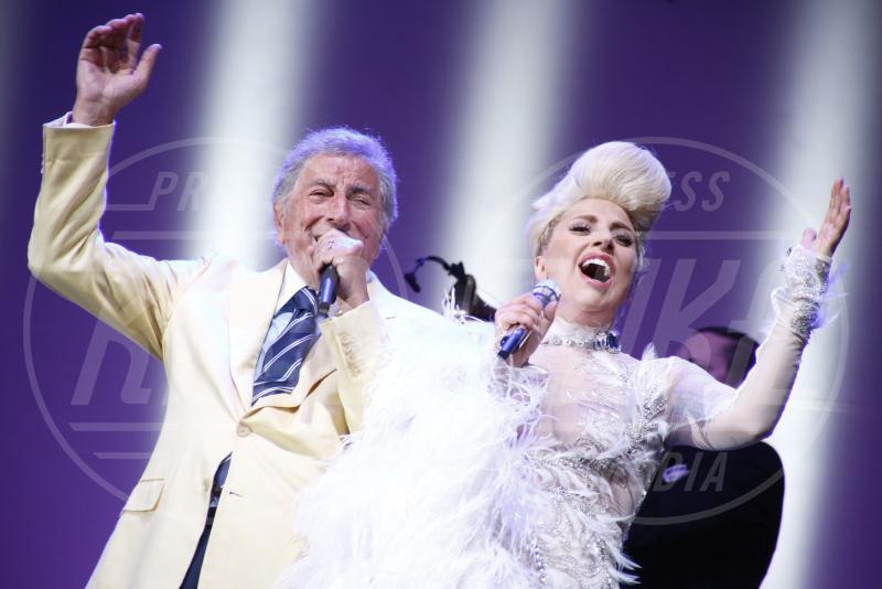 Lady Gaga, Tony Bennett - Perugia - 15-07-2015 - Lady Gaga presenta il nuovo singolo Perfect Illusion