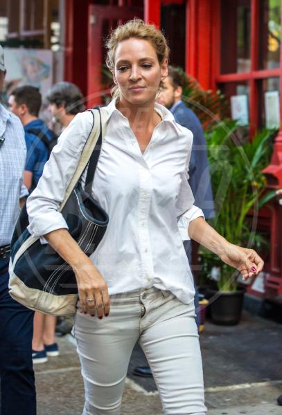 Uma Thurman - New York - 22-07-2015 - Uma Thurman: fratture multiple durante equitazione