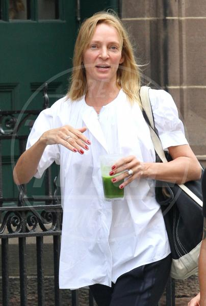 Uma Thurman - New York - 27-07-2015 - Uma Thurman: fratture multiple durante equitazione
