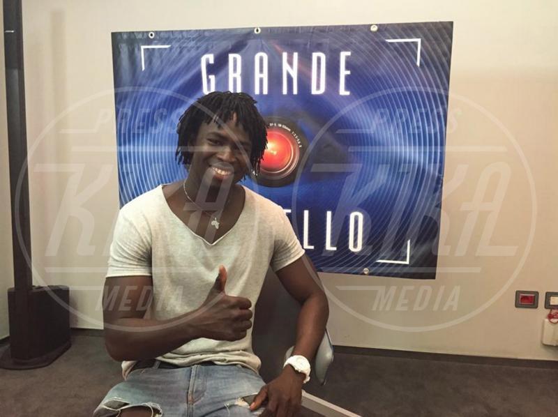 Samba Laobe Ndiaye - Roma - 29-07-2015 - Samba del Grande Fratello 13:
