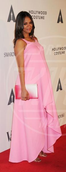 Zoe Saldana - Los Angeles - 01-10-2014 - Parto incinta... torno in forma (se sono nello showbiz)
