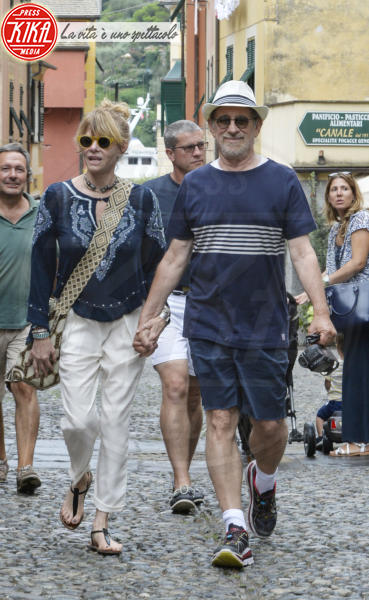 Kate Capshaw, Steven Spielberg - Portofino - 02-08-2015 - Estate 2019: i vip turisti abituali in Italia